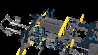 8421 Mobile Crane assemble