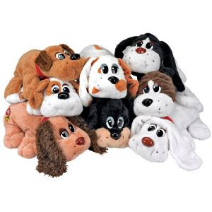 Plush Puppies Dog Toys Invincibles