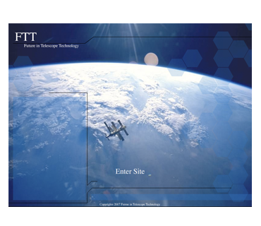 """Future in Telescope Technology - Flash Site"" 2006"