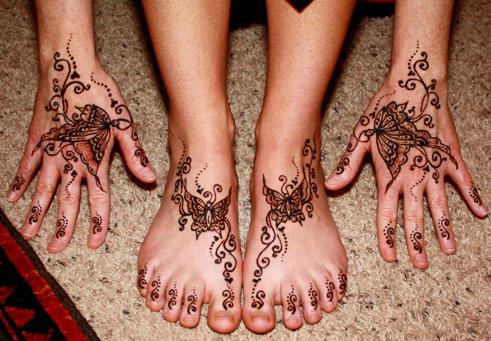 HENNA SENSE Henna For HANDS Amp FEET