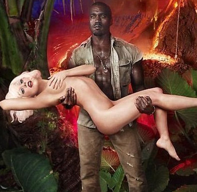 Kanye West Caught Cheating With A Nude Lady Gaga