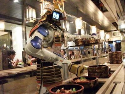 Hajime Robot Japanese Restaurant Bangkok, Thailand