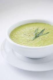 LOW-FAT Cream of Asparagus - LOW-FAT Creamy Soup Recipes