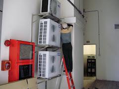 Kerja-Kerja Pemasangan Penghawa Dingin TNB Berhad