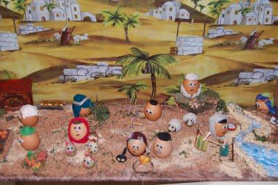 El arte de reciclar 12 01 2010 01 01 2011 - Figuritas para el belen ...