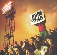 Football Fan Holding John 3:16