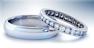 image of blue nile wedding rings