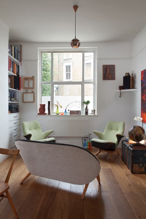 Peppermags interior house in brixton for Minimalist house brixton
