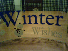 Winter Wishes glass