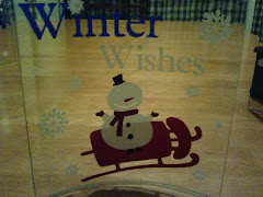 winter wishes sled