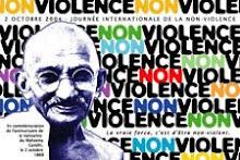 Journée mondiale de la non violence