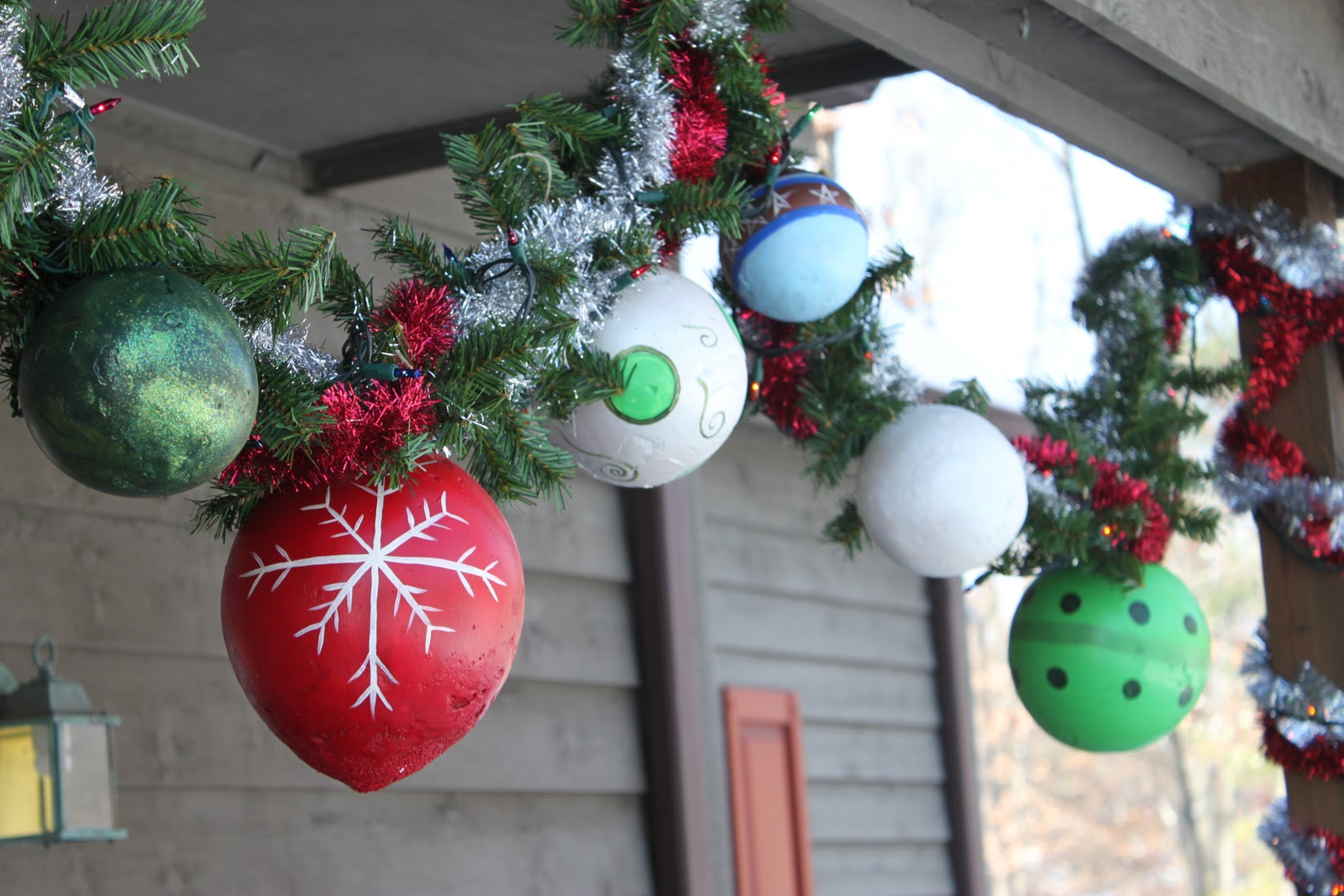 Hand Made Outdoor Ornaments Tutorial