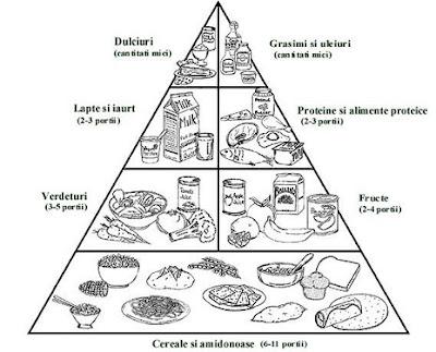 Piramida alimentara si dieta personalizata Piramida
