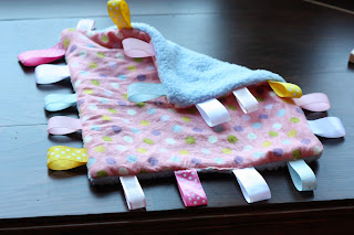 Make It: Ribbon Blanket for Baby
