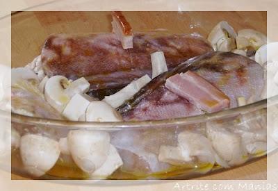 Maruca Gratinada com Cogumelos Maruca1