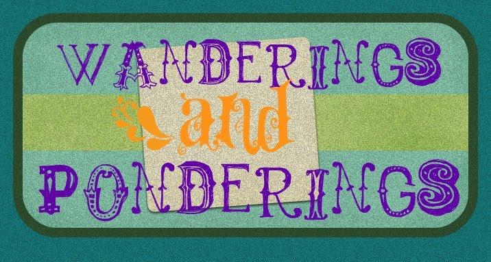 Wanderings and Ponderings