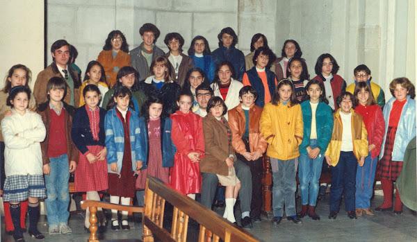 Coral Infantil San Jorge Salesianos de Alcoy - 1988 aprox.