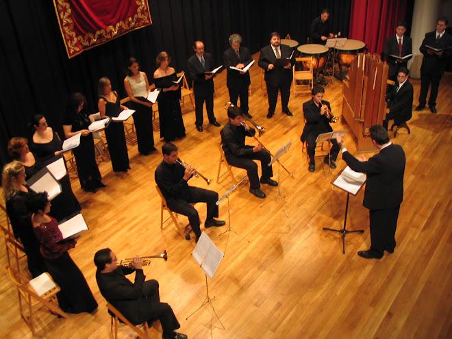 Coro Brahms en La Vila Joiosa - 2004