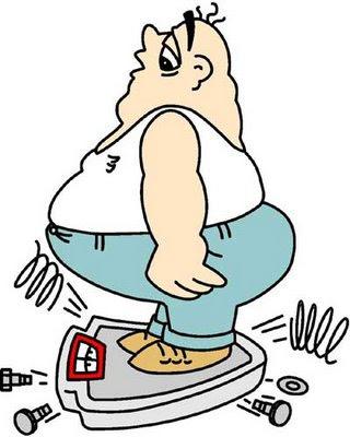 foto persona obesa: