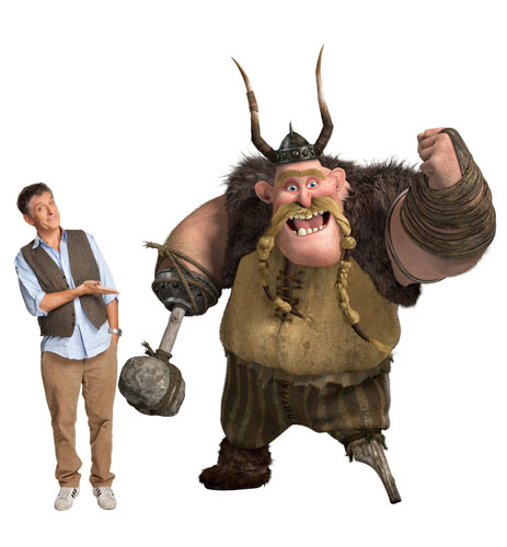 voices of how to train your dragon 2