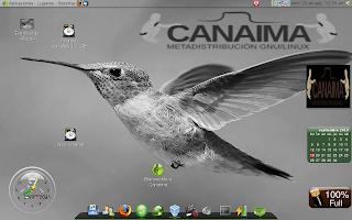 canaima_colibrí GNU/Linux