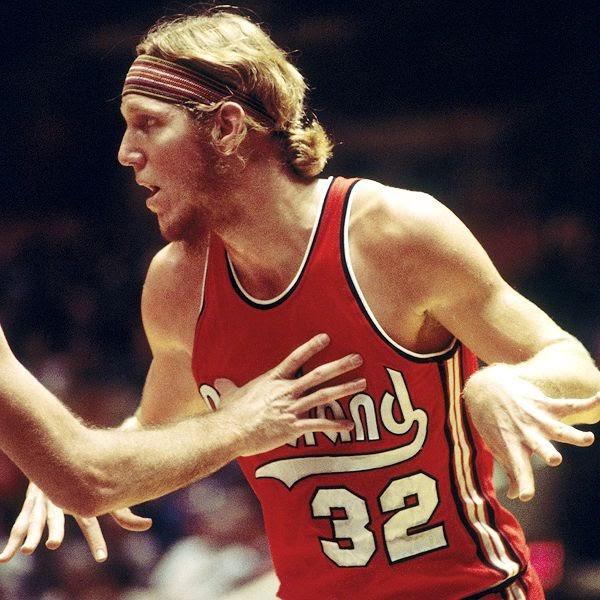 Portland Blazers Draft History: The Nine Pound Hammer: BILL WALTON, LONGHAIRED HIPPIE FREAK