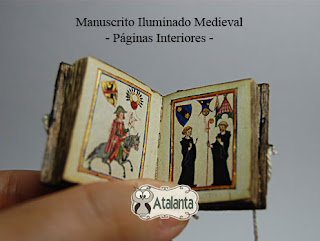 minibook iluminado medieval