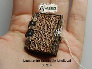 libro miniatura iluminado medieval