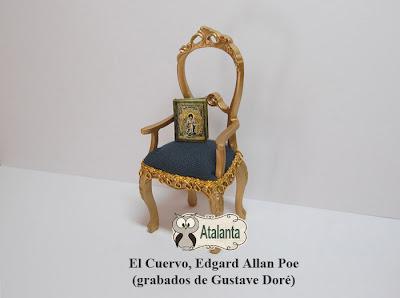 libro miniatura El Cuervo. Poe
