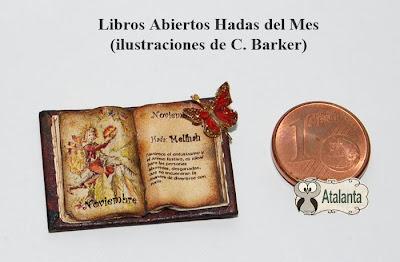 Libro miniatura Hadas Flores de Barker