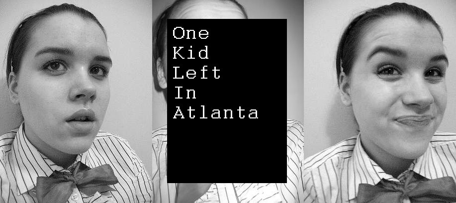 One Kid Left In Atlanta