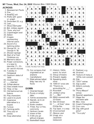 graphic about Thomas Joseph Printable Crosswords identified as straightforward crossword puzzles on the web : Blue Robotic Crossword Puzzle