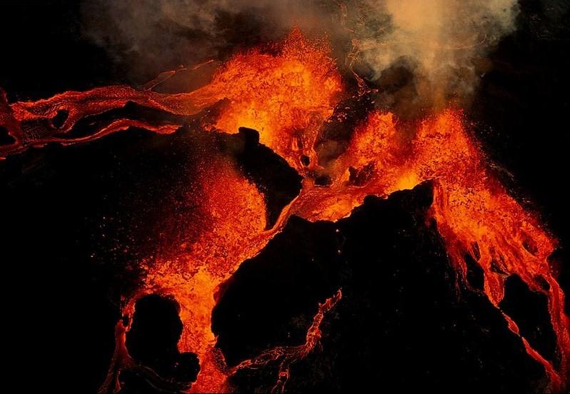 Eruptions Of Kilauea. eruption by kilauea