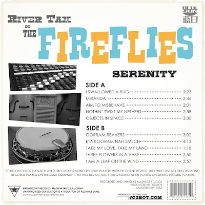 River Tam and the Fireflies, Back Cover