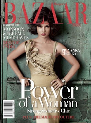 Priyanka Chopra's Hot Photoshoot for Harper's Bazaar
