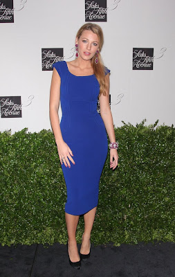 Blake Lively – hot at Saks Fifth Avenue Launch Celebration