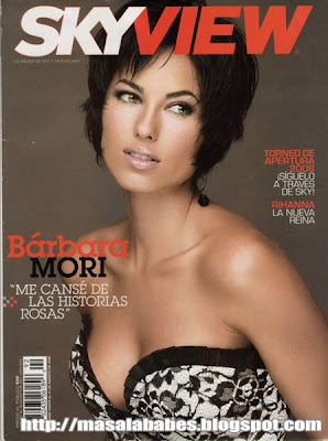 Barbara Mori Skyview Magazine Photoshoot