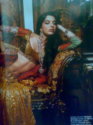 Giselli Monterio Hot Femina Magazine Photoshoot