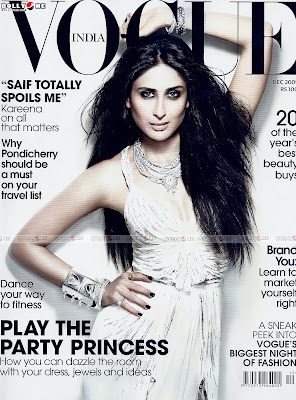 Kareena Kapoor VOGUE Mag December 2009 Scan
