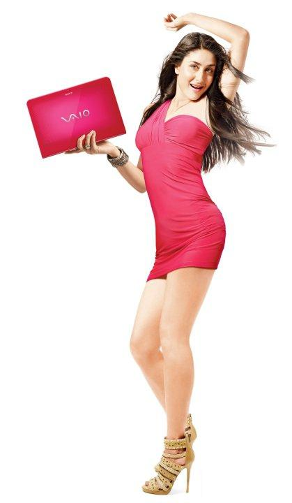 Kareena Kapoor Sizzles in Sony Vaio Photoshoot
