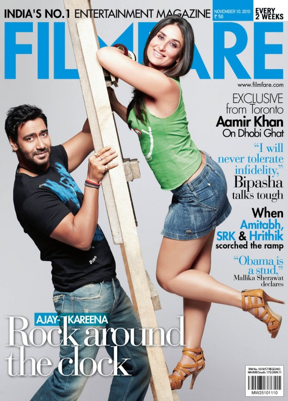 Kareena Kapoor Filmfare Magazine November 2010