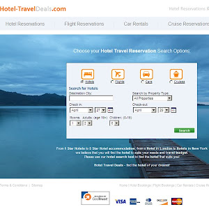 35 Free Travel And Hotel Website Templates - Free PSD Web UI Elements