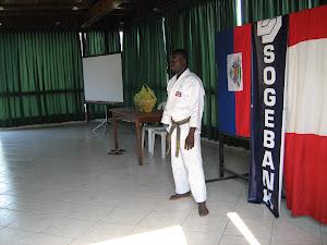 Dictando curso en Lima-Peru