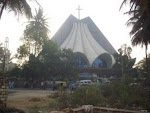 """Vincent Pelloti Catholic Church"" in Banaswadi(Bangalore)."