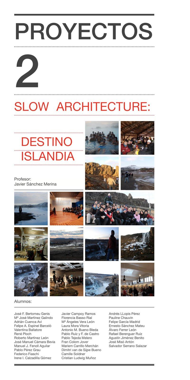 DESTINO ISLANDIA / Arquitectura y Paisaje