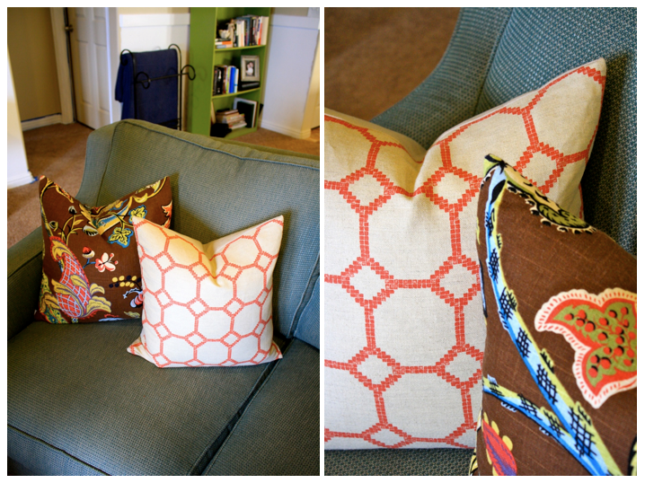 marta writes: how-to arrange & pick out throw pillows