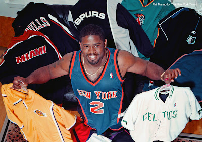Gary Brown and NBA apparel