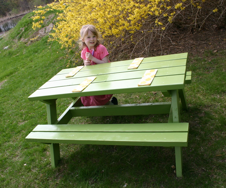 KIDS PICNIC TABLES PLANS 2X3 « PICNIC TABLES