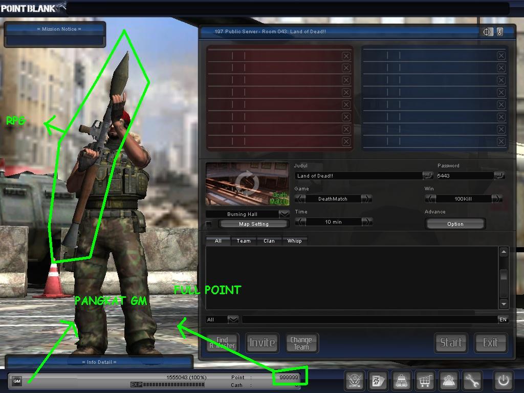 Ninja VIP 16102010 (Master Medal Hack + Pangkat GM + RPG Mode)