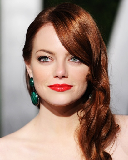 Red Hair Red Lips. Red Hair Red Lipstick.